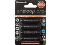 Panasonic Eneloop Pro batterie ricaricabili 2500mAh (set di 4)