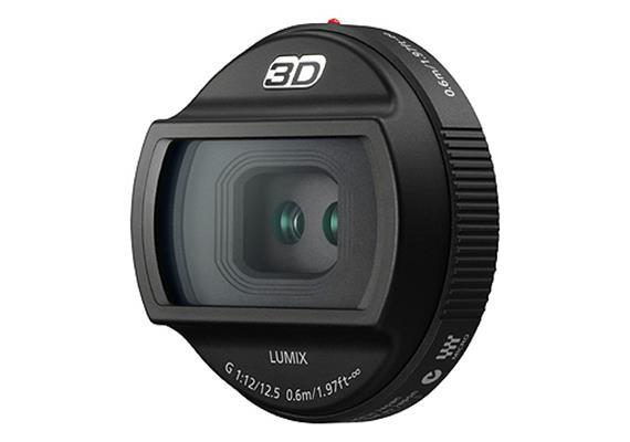 Panasonic obiettivo 3D LUMIX G-Micro 12,5mm f12