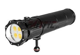 Scubalamp SUPE V12K lampada video subacquea (nero)
