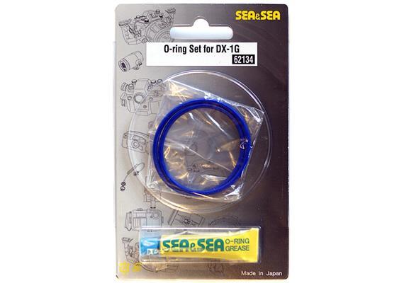 Sea&Sea O-Ring Set für Sea&Sea Unterwassergehäuse DX-1G / DX-2G