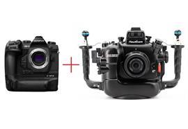 SET: Olympus Pro Kamera E-M1X + Nauticam UW-Gehäuse NA-EM1X (ohne Objektiv / ohne Port)